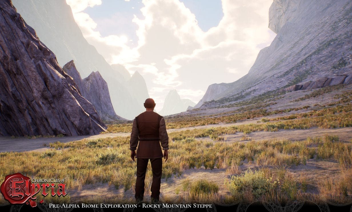 Chronicles of Elyria Biome Screenshot for Rocky Mountain Steppe 4