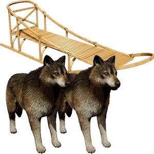 Wolf Sled