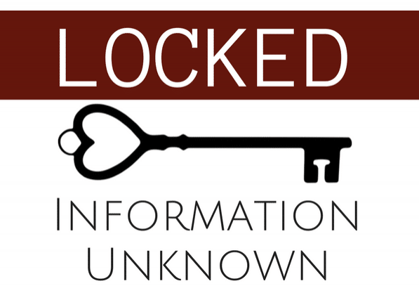 Locked Information Unknown Landscape