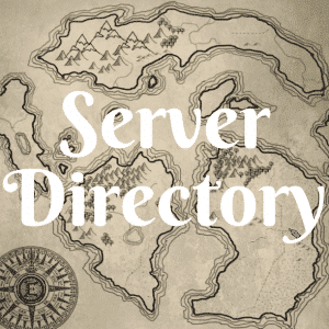 Server directory button.