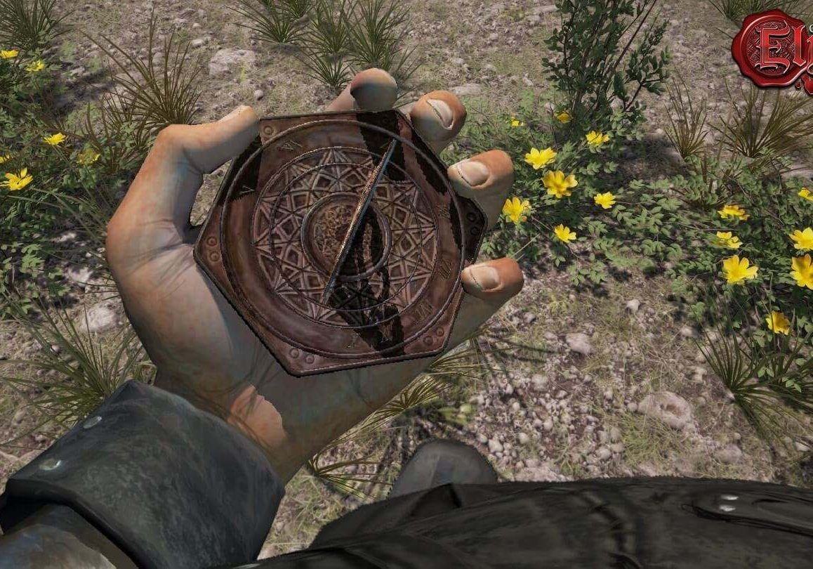 With no minimap, you're going to need to use a compass.